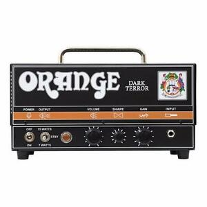 Orange Dark Terror DA-15H 15 Watt Amp Head Guitar Amplifier