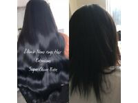 Nano Rings/Micro Rings/Flat Tape With Russian Hair Extensions @ d comfy of Ur Home