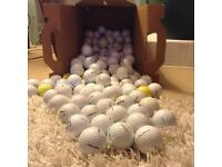 100 Practice golf balls (MIXED) Post/Packaging incl within the Price