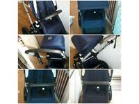 Bugaboo cameleon classic + navy special edition with carrycot