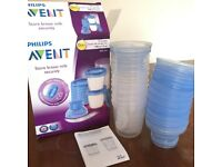 Avent Reusable Breast Milk Storage Cups (180ml)
