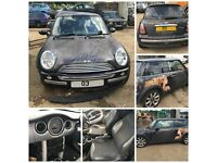 Mini Cooper 3 Door 2003 1.6 Manual Petrol Black Bonnet All Car Parts Available