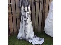 Halloween Brides Dress With Veil Sz 12 More For Sale Look Get Now In Time
