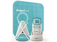 Anglecare Deluxe Movement & Sound Baby Monitor - Box + Instructions Parental Unit & Sensor Pad Only