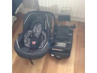 Silvercross Ventura car seat and isofix