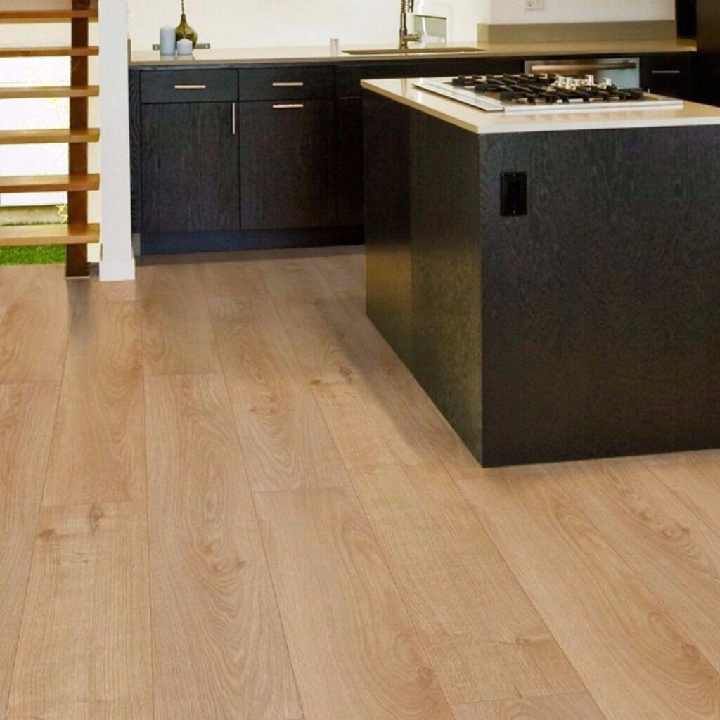 Overture Milano Oak Effect Laminate Flooring 1 25 M² Pack
