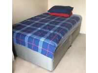 4 foot small double bed with storage drawers