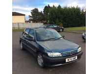 12MONTHS MOT Peugeot 306 1.9td xrdt with Bosch fuel pump very good on fuel