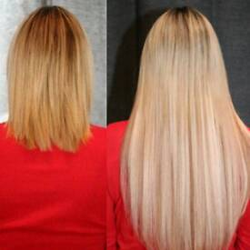 AMBITIOUS LENGTHS. Mobile hair extensions 20 years experience London