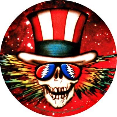 Grateful Dead Uncle Sam Vinyl Sticker Decal Hippie Rock n Roll Yeti Tumbler