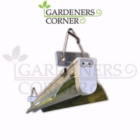 Hydroponics 2ft 24w Wattage T5 Single Tube Bulb grow Light Tent UK with Bulb UK