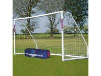 SAMBA GOALS - full size portable goals, flexibility to make upto 20 different goal sizes