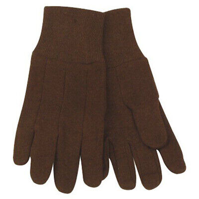 KINCO Brown Jersey Work Gloves Size Youth Farm Construction