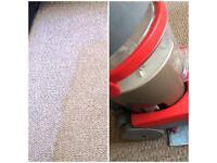 Carpet washing!