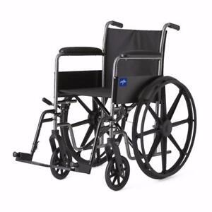 Fauteuil Roulant Medline - 199.99$ - Livraison gratuite et rapide - Neuf - Aucune taxes sur les chaises roulantes