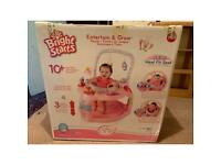 Bright starts entertain and grow 10 plus activities pink