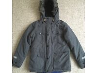 Boys Grey Winter Jacket From NEXT - Age 10 - Childrens Kids Clothes