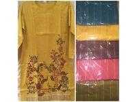 Pakistani Designer Kurtas , wholesale or individual