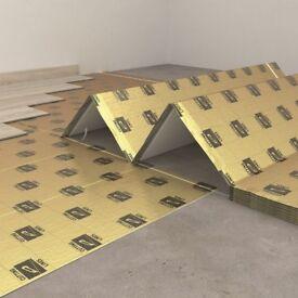 Click Vinyl Tile Laminate Flooring Underlay SECURA LVT CLICK SMART 10 SQM
