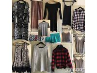 Selection of ladies clothing