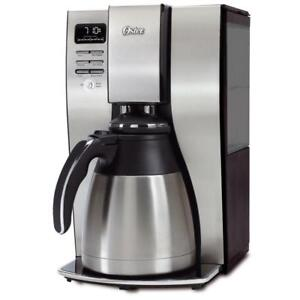 Oster 10-Cup Optimal Brew Thermal Programmable Coffeemaker, Stainless Steel (Model BVSTPSTX95-033)