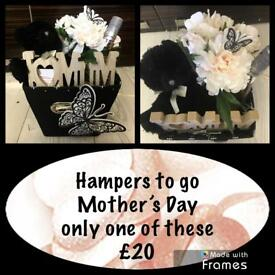 Mother's Day hampers from £10-&25