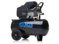 brand new 50 Litre Air Compressor - 9.6CFM, 2.5HP, 50L