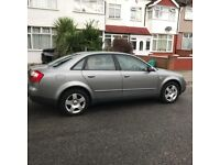 AUDI A4 SALOON AUTOMATIC ,LOW MILLAGE ,ONE YEAR NEW MOT ,GREAT DRIVE