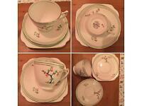 Rosalyn china trio vintage set
