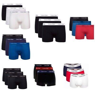 Calvin Klein Boxershorts 3er Pack Herren Unterwäsche SALE NEU S-XL LowRise Trunk