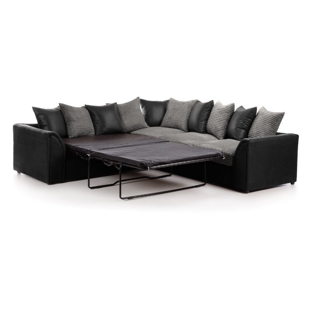 Express Delivery Brand New Byron Large Corner Sofa Or Bed On Special Offer