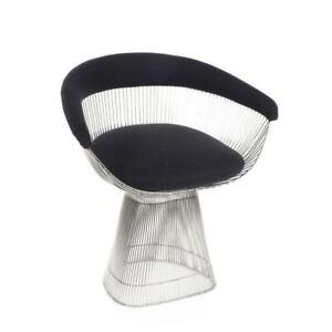 Brand New Platner Dining Chair with Chrome and Gold Base | HCD Toronto