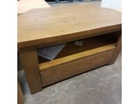 Arizona corner tv unit **Half price: £120**