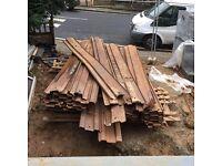 Sheet piling - scrap metal