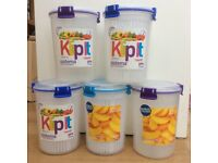 Sistema 1 Litre storage containers