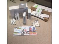 Nintendo Wii Bundle with Wii Fit and Games (incl. Mario Kart)