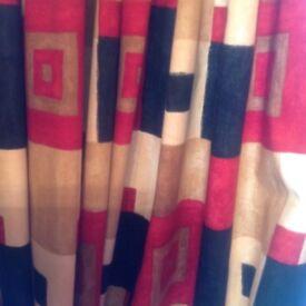 Pencil Pleat Stylish Curtains 40 x 80. £35
