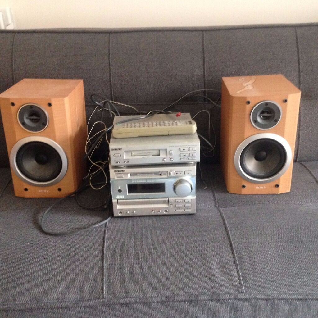 Sony DHC MD373 and TCTX373 with speakersusedin Islington, LondonGumtree - A DHC MD373 hi fi system (including speakers) for sale. Ive had it since 2000, so its seen better days. However, the system still worked last time I plugged it in (admittedly a year ago) as did the remote control. The CD tray sticks when retracting,...