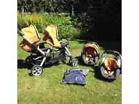 Jane Pro Twin travel system.£35.( £700 new).