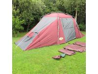 Khyam Large Tourer family tent with extra ground sheet - excellent condition