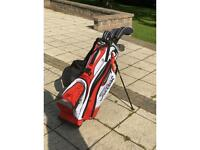 USA Pro tour series kids golf clubs with bag