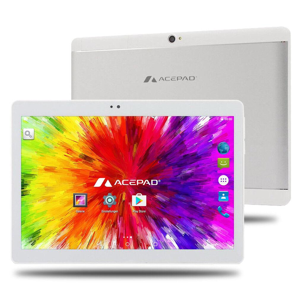 ACEPAD A140 10 Zoll Tablet PC FULL HD 64GB 2GB RAM 3G/4G LTE Octa Core DUAL-SIM