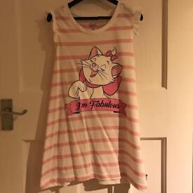 Disney Aristocats Marie Pink Striped Top