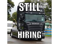 Class 1 HGV Driver Required