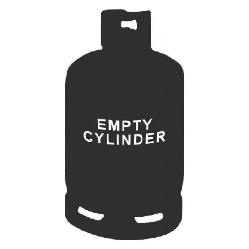 EMPTY Calor Gas 15 Kg Butane Bottle/cylinder
