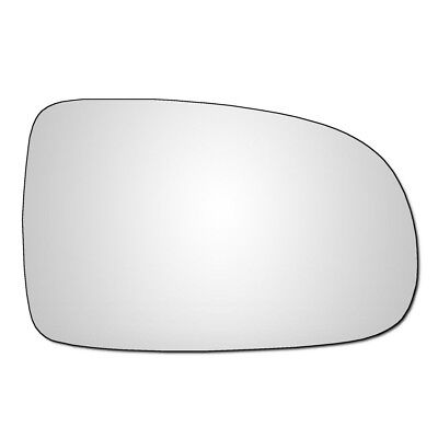 Right Hand Drivers Side Vauxhall Corsa C 2001 2006 Convex Wing Door Mirror Glass