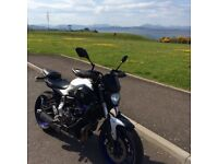 Yamaha MT07 abs 2015