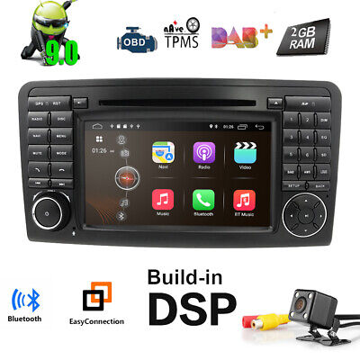 Android 9.0 DAB+ Autoradio Mercedes BENZ ML/GL-Klasse ML300 W164 GL320 GPS DVD