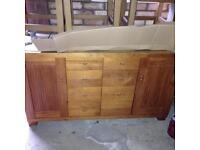 Bespoke solid wood sideboard - £900 new