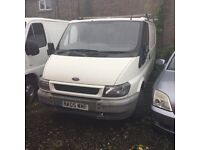 2005 reg ford transit swbase good engine and gearbox nice exterior no mot no mot needs welding cheap